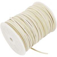 Imitert ruskinn, tykkelse 3 mm, beige, 100 m/ 1 rl.