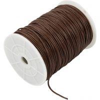 Bomullssnor, tykkelse 2 mm, brun, 100 m/ 1 pk.