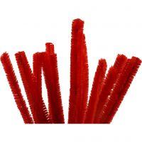Piperensere, L: 30 cm, tykkelse 15 mm, rød, 15 stk./ 1 pk.