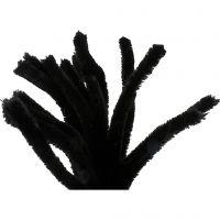Piperensere, L: 30 cm, tykkelse 15 mm, svart, 15 stk./ 1 pk.