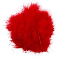 Dun, str. 5-12 cm, rød, 15 stk./ 1 pk.