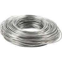 Bonzaitråd, tykkelse 2,5 mm, sølv, 75 m/ 1 rl.