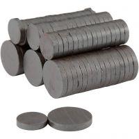 Magnet, dia. 14+20 mm, tykkelse 3 mm, 2x250 stk./ 1 pk.
