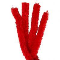 Piperensere, L: 40 cm, tykkelse 30 mm, rød, 4 stk./ 1 pk.