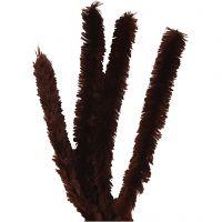 Piperensere, L: 40 cm, tykkelse 30 mm, brun, 4 stk./ 1 pk.