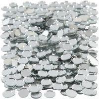 Speilmosaikk, rund, dia. 10 mm, 500 stk./ 1 pk.