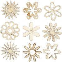 Trepynt, blomster, str. 28 mm, 45 stk./ 1 pk.