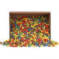 Mosaikkstein, str. 8-10 mm, sterke farger, 2 kg/ 1 pk.