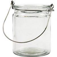 Lanterne, H: 10 cm, dia. 7,6 cm, 12 stk./ 1 kasse