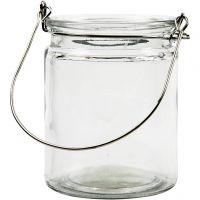 Lanterne, H: 10 cm, dia. 7,6 cm, 2 stk./ 1 pk.