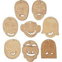 Masker til oppheng, str. 5,5-7 cm, tykkelse 4 mm, 24 stk./ 1 pk.