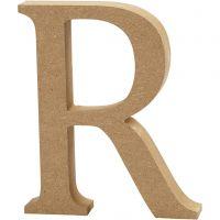 Bokstav, R, H: 13 cm, tykkelse 2 cm, 1 stk.