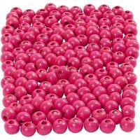 Treperler, dia. 5 mm, hullstr. 1,5 mm, pink, 6 g/ 1 pk., 150 stk.