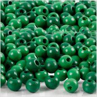 Treperler, dia. 5 mm, hullstr. 1,5 mm, grønn, 6 g/ 1 pk., 150 stk.