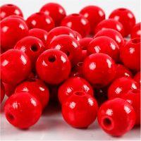 Treperler, dia. 12 mm, hullstr. 3 mm, rød, 22 g/ 1 pk.