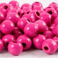 Treperler, dia. 12 mm, hullstr. 3 mm, pink, 22 g/ 1 pk., 40 stk.