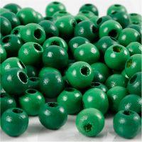 Treperler, dia. 8 mm, hullstr. 2 mm, grønn, 15 g/ 1 pk., 80 stk.