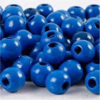 Treperler, dia. 10 mm, hullstr. 3 mm, blå, 20 g/ 1 pk.