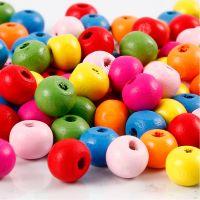 Treperlemix, dia. 8 mm, hullstr. 1,5-2 mm, ass. farger, 500 g/ 1 pose