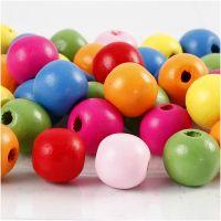 Treperlemix, dia. 12 mm, hullstr. 2,5-3 mm, ass. farger, 500 g/ 1 pose
