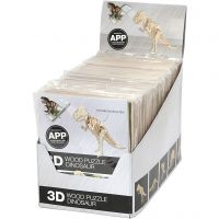 3D Puzzle med APP, H: 11,5-22 cm, 48 stk./ 1 pk.