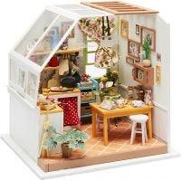 Miniatyrrom, Kjøkken, H: 18,7 cm, B: 19 cm, 1 stk.