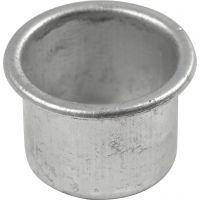 Lysmansjetter, H: 18 mm, dia. 25 mm, hullstr. 22 mm, 12 stk./ 1 pk.