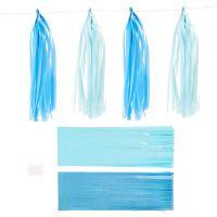 Dusk, str. 12x35 cm, 14 g, blå, lys blå, 12 stk./ 1 pk.