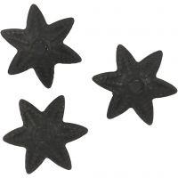 Coupeller, dia. 10 mm, svart, 10 stk./ 1 pk.