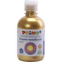PRIMO metallic maling, gull, 300 ml/ 1 pk.