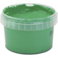 PRIMO fingermaling, grønn, 250 ml/ 1 fl.