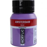 Student kunstner akrylmaling, dekkende, Ultramarine violet, 500 ml/ 1 fl.