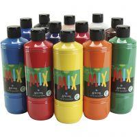 Greenspot Ready mix, matt, ass. farger, 12x500 ml/ 1 pk.
