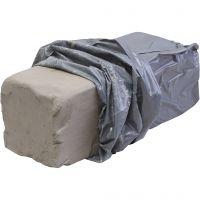 Hvitbrennende Stentøysleire, 10 kg/ 1 pk.