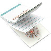 Veiledning til presis preging på anheng og armbånd, str. 6,5x13 cm, 1 stk.