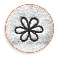 Pregestempel, Blomst, L: 65 mm, str. 6 mm, 1 stk.