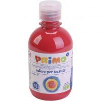 Tekstilmaling, rød, 300 ml/ 1 fl.