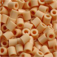 Rørperler, str. 5x5 mm, hullstr. 2,5 mm, medium, lys pulver (32228), 6000 stk./ 1 pk.
