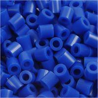 Rørperler, str. 5x5 mm, hullstr. 2,5 mm, medium, mørk blå (32232), 1100 stk./ 1 pk.