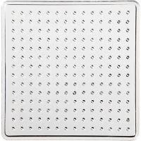 Perleplate, liten kvadrat, str. 7x7 cm, 10 stk./ 1 pk.