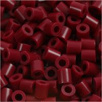 PhotoPearls, str. 5x5 mm, hullstr. 2,5 mm, vinrød (4), 1100 stk./ 1 pk.