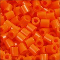 PhotoPearls, str. 5x5 mm, hullstr. 2,5 mm, orange, klar (13), 6000 stk./ 1 pk.