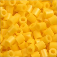 PhotoPearls, str. 5x5 mm, hullstr. 2,5 mm, gul (14), 1100 stk./ 1 pk.