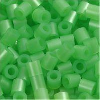 PhotoPearls, str. 5x5 mm, hullstr. 2,5 mm, grønn perlemor (22), 6000 stk./ 1 pk.