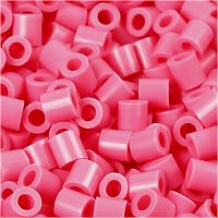 PhotoPearls, str. 5x5 mm, hullstr. 2,5 mm, gml. rosa (25), 1100 stk./ 1 pk.