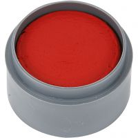 Grimas Ansiktsmaling, klar rød, 15 ml/ 1 boks