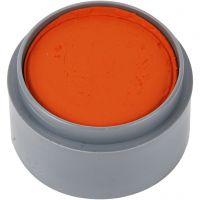 Grimas Ansiktsmaling, orange, 15 ml/ 1 boks