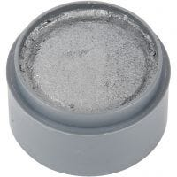Grimas Ansiktsmaling, sølv, 15 ml/ 1 boks