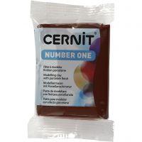 Cernit, brun (800), 56 g/ 1 pk.