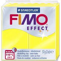 FIMO® Effect , neon gul, 57 g/ 1 pk.